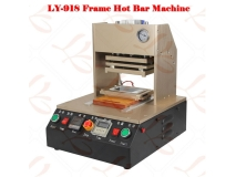 new hot LY 918 built-in air compressor,auto apple mobilehot bar frame press machine
