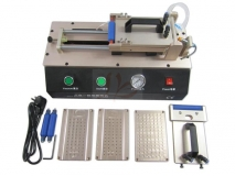 LY 973 V.3 all in one semi-Auto Vacuum OCA film laminator 220V/110V with 4 moulds universal S6 S6+ S7 Edge