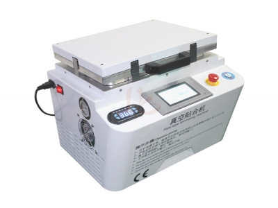 auto air lock LY 888A+ soft-hard airbag type all in one touch screen OCA vacuum laminator max 12inch